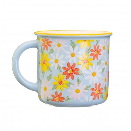 Mug Blue daisy
