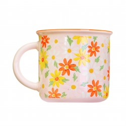 Mug Pink daisy