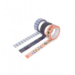 Set de 3 Masking tape - Tapestry