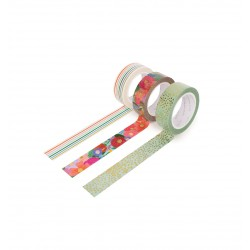 Set de 3 Masking tape - Garden Party