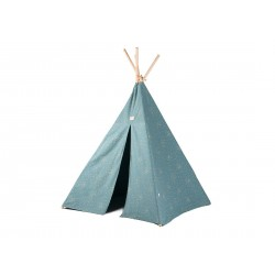 Tipi gold confettis/magic green