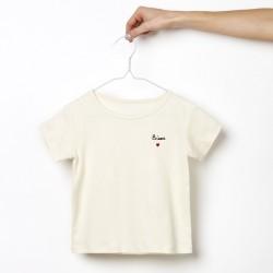 T-shirt kid Bisou - 3ans