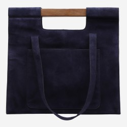 Sac cabas Wood marine