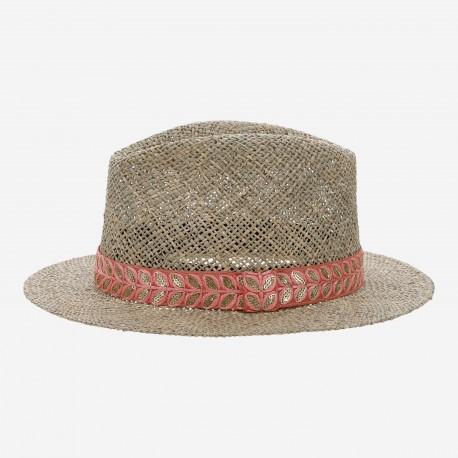 Chapeau Panama Corail