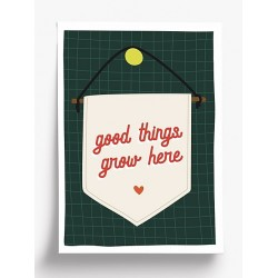 Affiche A4 Good things