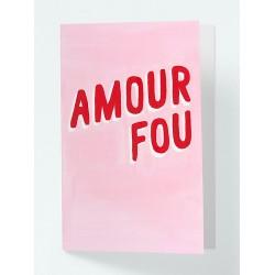 Carte postale Amour fou