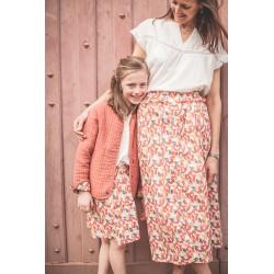 Jupe Jeanne - Taille S imprimé fleurs