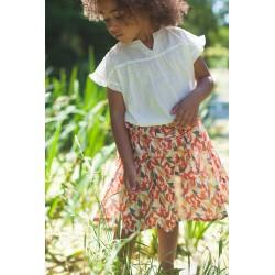 Jupe Jeannette - 6 ans imprimé fleurs