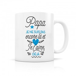 "Mug d'annonce ""Papa"""