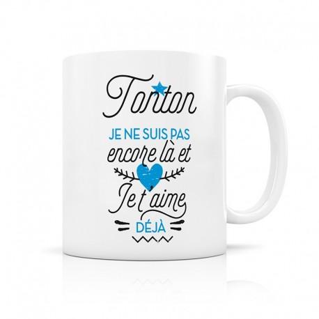 "Mug d'annonce ""Tonton"""