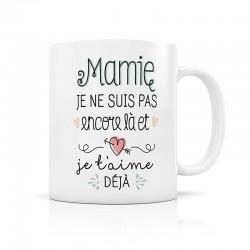 "Mug d'annonce ""Mamie"""