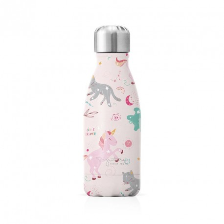 Bouteille isotherme 260 ml - Licorne