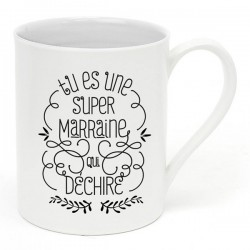 "Mug ""Super marraine"""