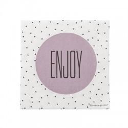 """Serviettes en papier """"Enjoy"""""""