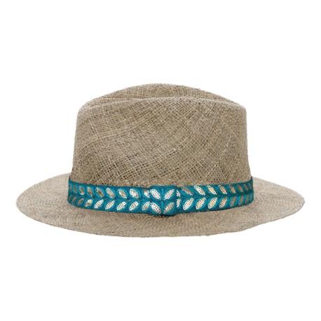 Chapeau Panama Turquoise