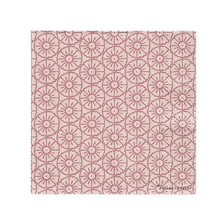 """Serviettes en papier """"Cecile"""", fleurs rose"""