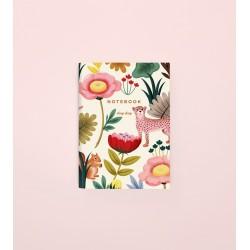 Notebook clap clap - Animal crème