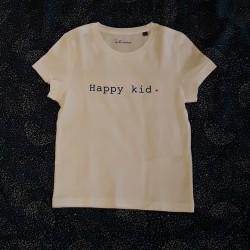 T-shirt Happy kid - 4/6 ans