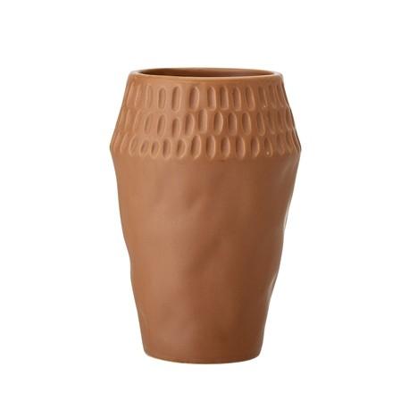 Vase brun argile