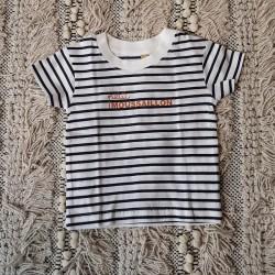 T-shirt Petit moussaillon - 0/6 mois