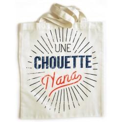 """Tote-bag """"chouette nana"""""""