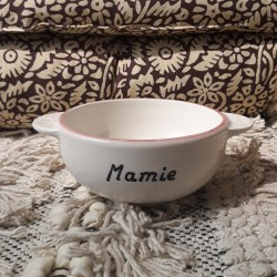 Bol breton Mamie - fleurs