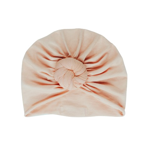 Turban beanie Perfect nude 3/6 mois