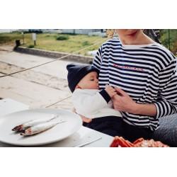 T-shirt d'allaitement Face à la mère - Taille L