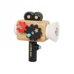 Caméra Hollywood en bois