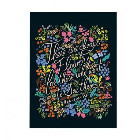 Affiche 20x25 cm - Matisse quote