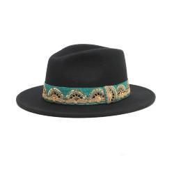 Chapeau Jim noir M/L