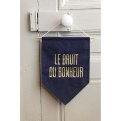 """Grande bannière """"Le bruit du bonheur"""" - exclu"""