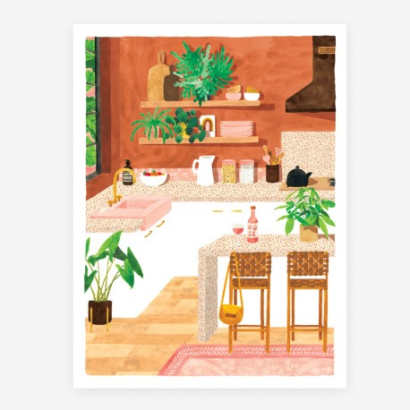 Affiche Kitchen Small
