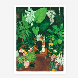 Affiche Plant addict Large