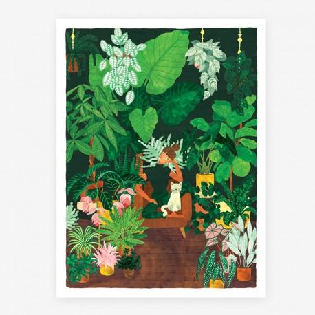 Affiche Plant addict Small