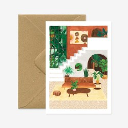 Carte Vintage living room