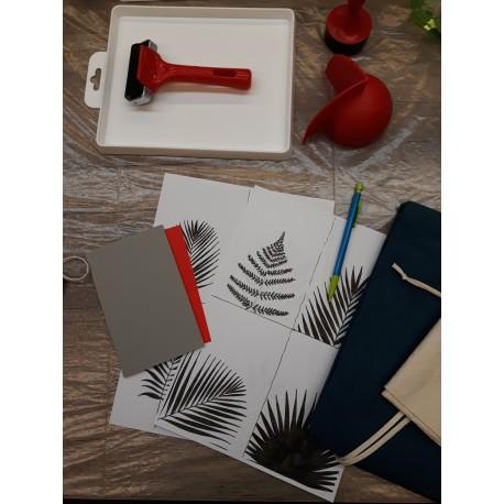 Initiation à la linogravure avec création de cartes de Noël