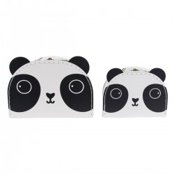 Set de 2 valises Panda