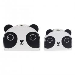 Set de 2 valises Panda
