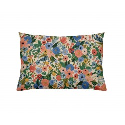Coussin Garden party blue - rectangulaire