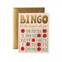 Carte double Bingo