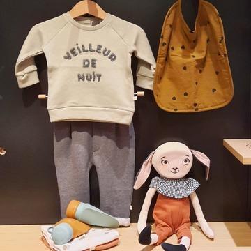 Jolie sélection de vêtements pour bébé au Bruit du bonheur ! Les collections automne-hiver arrivent !