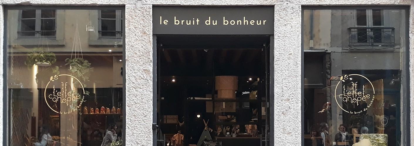 Le Bruit du bonheur : la nouvelle boutique de L'effet canopée, à Lyon 2ème !